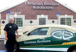 Ret. Army Col. Jud Cook at his Christian Brothers Automotive franchise location near Tampa.
